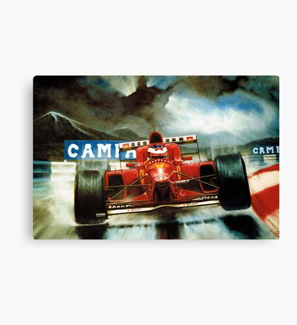 Michael Schumacher in Austria Canvas Print