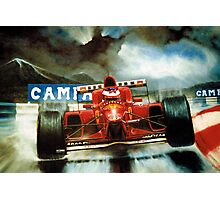Michael Schumacher in Austria Photographic Print