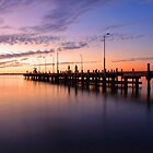 Esplanade Jetty At Dusk  by EOS20