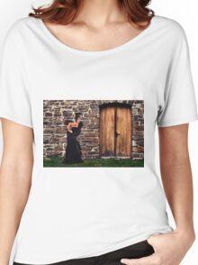 Fashion Model Fine Art Print Women's Relaxed Fit T-Shirt