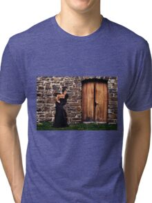 Fashion Model Fine Art Print Tri-blend T-Shirt