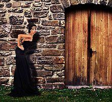 Fashion Model Fine Art Print by stockfineart