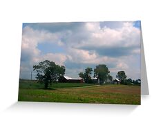 Drive By House Greeting Card