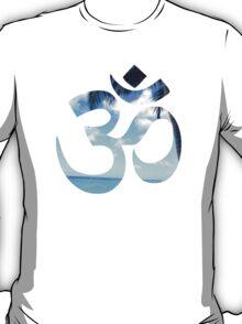 Beach Om Symbol T-Shirt