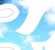 Beach Om Symbol Sticker