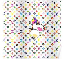 Murakami Eye Love You Panda Poster