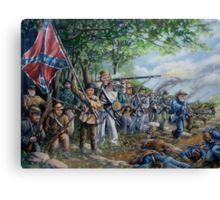 """""""For The Old North State"""" Canvas Print"""