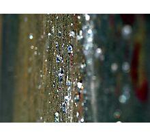 Hard Rain Photographic Print