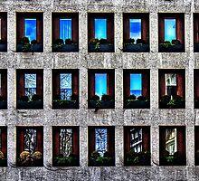 Modern Building Fine Art Print by stockfineart