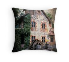 The Watermill at Marie Antoinette's Petit Trianon Throw Pillow