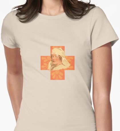 Tender is the cross Womens Fitted T-Shirt