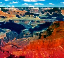 Grand Canyon by Beverly Lussier