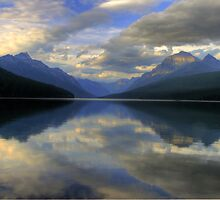 Bowman Lake by Dave Hampton