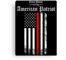Free Since 1776 - American Patriot Canvas Print