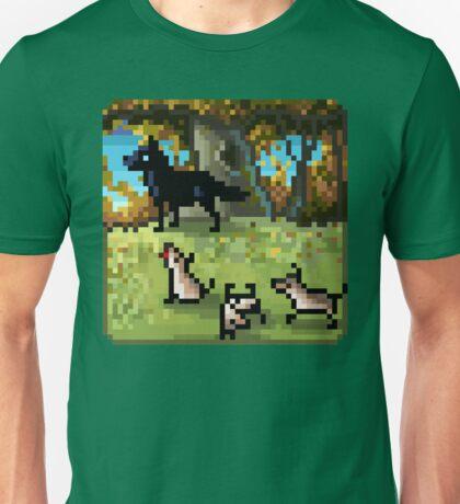 Tiny Wolf Family Unisex T-Shirt