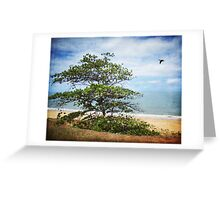 """The Deserted Beach"" Greeting Card"