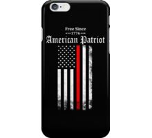 Free Since 1776 - American Patriot iPhone Case/Skin