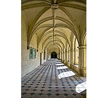 Fontevraud Abbey Colonnade Photographic Print