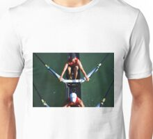 Aerial View of Rowers Unisex T-Shirt