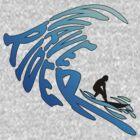 Wave rider t-shirts by Janice E. Sheen