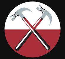 Pink Floyd Hammers Logo by Joey H