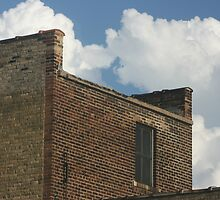 Ledge and Clouds by Lita Medinger