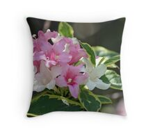 Why not Wigelia? Throw Pillow