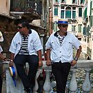 Gondoliers or Boulevardiers by martinilogic