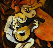 The Lute Players by galerievie