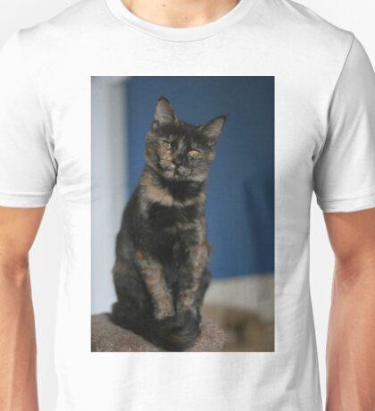 Hazel the tortie Unisex T-Shirt