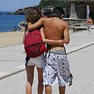 Young Love - Biarritz style by triciamary