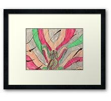ABSTRACTERO 8 Framed Print