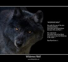 """Wilderness Wolf"" by Skye Ryan-Evans"