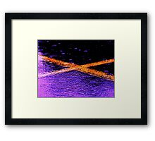 Martian Cross Framed Print