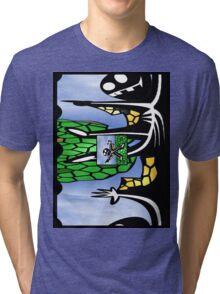 Cape Man Tri-blend T-Shirt