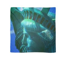 Statue of Liberty Head in The Sun Scarf