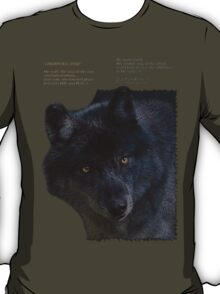 """Wilderness Wolf"" T-Shirt"