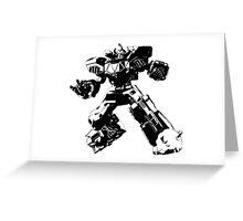 Mighty Morphin Power Rangers Megazord 2 Greeting Card