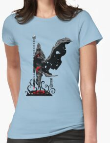 The Game of Kings, Wave Three: The Black King's Bishop Womens Fitted T-Shirt