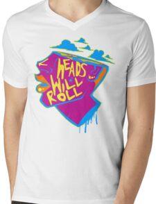 Heads Will Roll Mens V-Neck T-Shirt