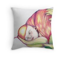 Baby  - Flowers Throw Pillow