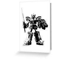 Mighty Morphin Power Rangers Megazord 4 Greeting Card