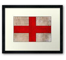 Cross of Saint George Battle Flag Framed Print