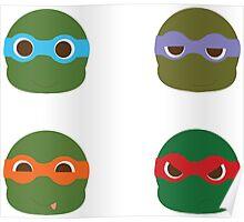 ninja turtles ball Poster