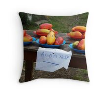 Roadside Trading Throw Pillow