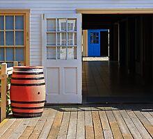 The Blue Door by CarolM