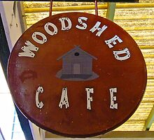 The  new ( Wood shed cafe ) redcliffe by mandyemblow