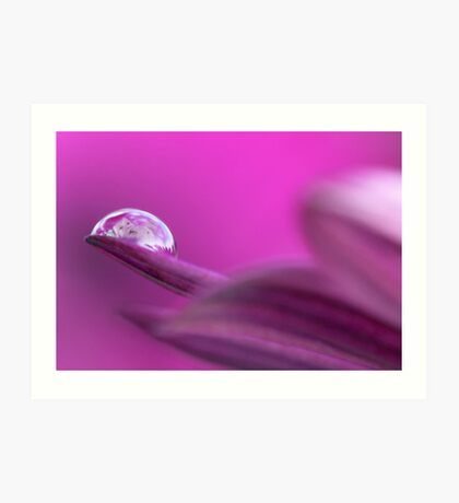 Raindrop baby III Art Print