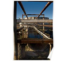 Cattle watering trough Poster
