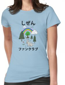 Nature Fan Club - しぜん ファンクラブ - Shizen Fan Kurabu Womens Fitted T-Shirt